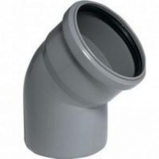 Коліно каналізаційне 50/45 мм