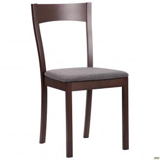 Обеденный стул AMF Ричард 860х450х490 мм деревянный орех темный-графит