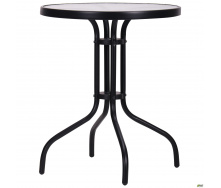 Уличный столик AMF Rico 60 см на металлокаркасе черном