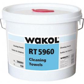 WAKOL RT 5960 Очищающие салфетки (150 штук в ведре)