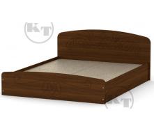 Ліжко Ніжність -160 МДФ горіх Компаніт