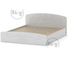 Ліжко Ніжність -160 МДФ німфея альба Компаніт