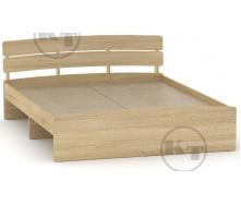 Ліжко Модерн 160 дуб Сонома Компаніт