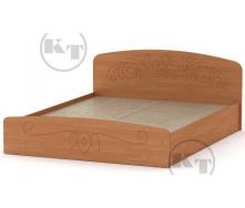 Ліжко Ніжність -160 МДФ вільха Компаніт