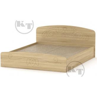 Ліжко Ніжність -160 МДФ дуб Сонома Компаніт