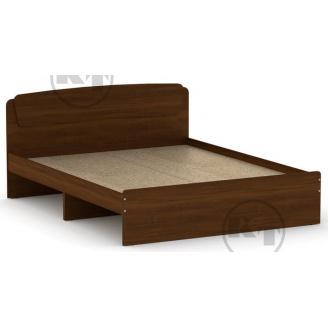 Ліжко Класика 160 горіх Компаніт