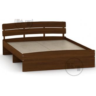 Ліжко Модерн 160 горіх Компаніт