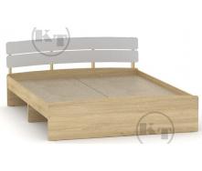 Ліжко Модерн 140 дуб Сонома комбі Компаніт