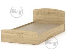 Ліжко Ніжність -90 МДФ дуб Сонома Компаніт