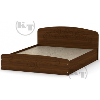Ліжко Ніжність -140 МДФ горіх Компаніт