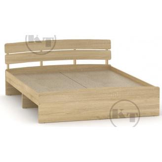 Ліжко Модерн 140 дуб Сонома Компаніт