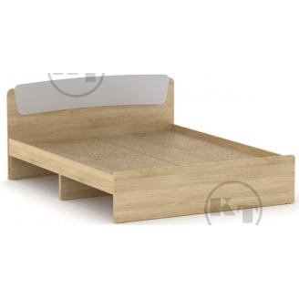 Ліжко Класика 140 дуб Сонома комбі Компаніт