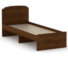 Ліжко Класика 80 горіх Компаніт