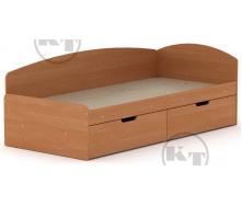 Ліжко -90 + 2С вільха Компаніт