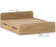 Ліжко з ящиками Віола 160х200 дуб Сонома Компаніт