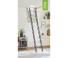 Чердачная лестница Bukwood Steel Clips 90x60