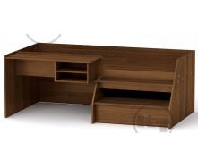Ліжко Універсал-3 190х70 горіх Компаніт