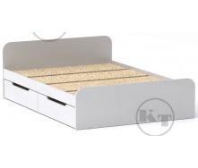 Ліжко з ящиками Віола 140х200 німфея альба Компаніт