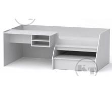 Ліжко Універсал-3 190х70 німфея альба Компаніт