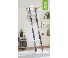 Чердачная лестница Bukwood Steel Clips 120x90