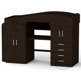 Кровать-чердак Универсал-2 190х70 венге Компанит