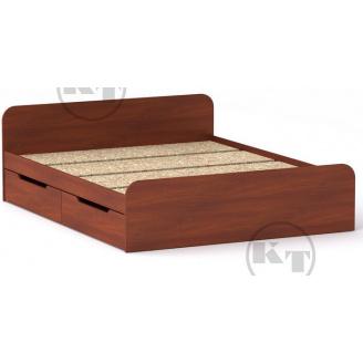 Ліжко з ящиками Віола 160х200 яблуня Компаніт