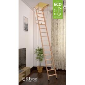 Чердачная лестница Bukwood ECO Long 110х60 см