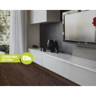 Паркетна дошка ESTA PARKET ясен Elegant Walnut Color 3-смугова