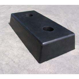 Відбійник гумовий Alutech 500х250х100мм