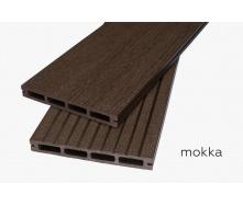 Террасная доска Woodlux Step Mokka 20мм