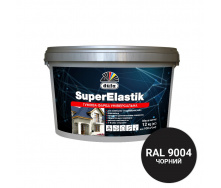 Фарба гумова ДЮФА SuperElastik RAL 9004 Чорний 3,5 кг
