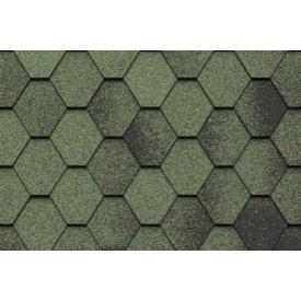 Бітумна черепиця Icopal Plano Antik 1000*317 мм зелений ліс