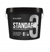 Фарба латексна KOLORIT Standart 3 9 л