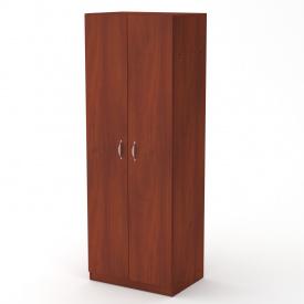 Шкаф-1 Компанит 650х1800х456 мм Яблоня