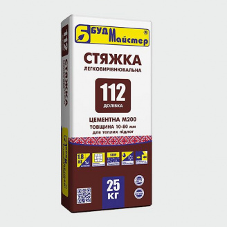 Стяжка ДОЛІВКА-112
