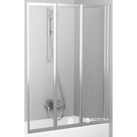 Шторка для ванны RAVAK VS3 100 Transparent 795P0U00Z1 сатин