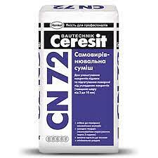 CN72 Суміш Самовиравн для підлоги під паркет (1-10 мм) 25 кг