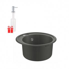 Набор Grohe мойка кухонная K200 31656AT0 + дозатор для моющего средства Contemporary 40536000