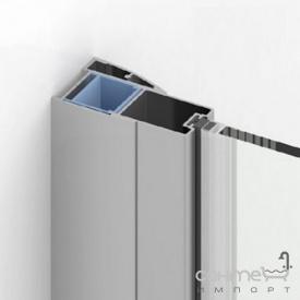 Добавочный профиль со стороны магнитного уплотнения New Trendy New Soleo, New Renoma PP-0007