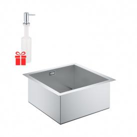 Набор Grohe мойка кухонная K700 31578SD0 + дозатор для моющего средства Contemporary 40536000