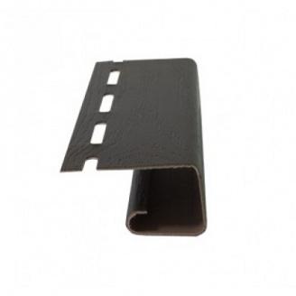 J-профіль коричневий карнизної підшивки Rainway