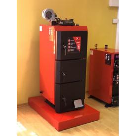 Котел 15 кВт KRAFT Lux cталь 6мм горіння 8-18 годин