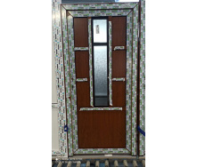 Двері міжкімнатні 6-камерний профіль WDS 800х2000 мм, колір Золотий дуб