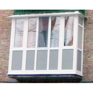 Балкон французький П-подібний 3000*2400