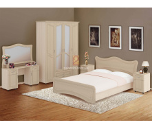 Спальня комплект 4Д Ангеліна МДФ Пехотін