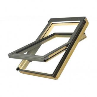 Мансардное окно Fakro FTS-V U2 c окладом EZV-P размер 06 (78х118)