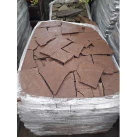 Рваный камень ALEX Group Песчаник красный