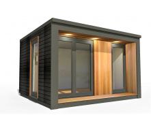Барнхаус сучасний модульний будинок 2х2 м
