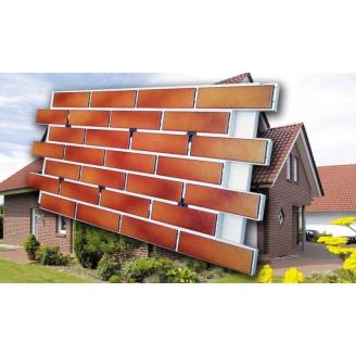 Термопанель фасадная 100 мм толщиной с клинкерной плиткой
