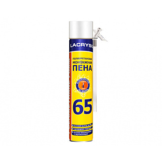 Піна всесезонная ручна LACRISIL 800 мл (65 гр)